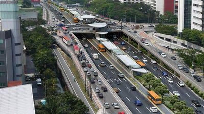Keyingi yil ishga tushadigan BRT Federal yo'nalishi maketi (sariq rangdagi avtobuslar)